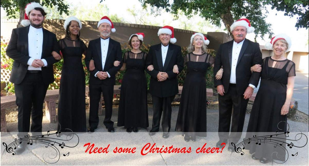 Octet Christmas entertainment